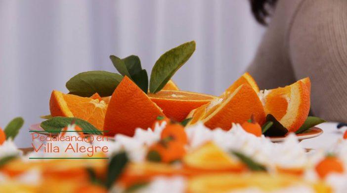 pie naranja